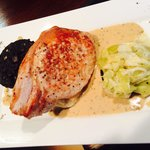 One for the taste buds pork chop on the new menu BEAUTIFUL !!!