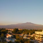 Etna from hotel room