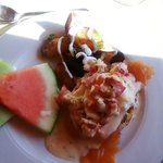 The food at Dalvay is fabulous. Start the day off with a lovely brunch!