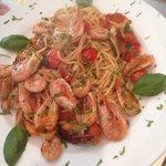 Seafood spaghetti .. Yum yum