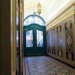 Entrance hall, looking towards front door
