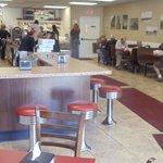 looks kinda like an old time diner!