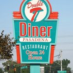 The Double TT Diner Sign