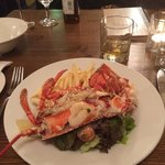 Scottish Lobster with chips