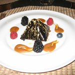 truffle chocolad dessert