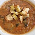 red bean vegetable soup ~ Ribollita
