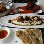 A sampling of yummy appetizers ! ! !