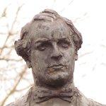 Statue of William Jennings Bryan -- close up