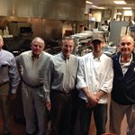 The Bill Walker Sea Island GA golf group at the Four Square Chefs Table