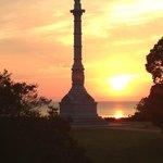 Liberty Statue--across the street