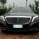 New Mercedes S class 4x4 Malpensa airport