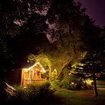 Cabins/Grounds at Night