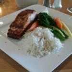Salmon plank
