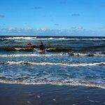 Surfschool Foamball Foto
