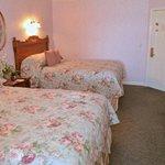 The 2 Queen Suite Bedroom
