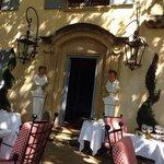 Lovely terrace dining