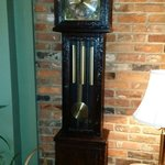 Grandfather clock, ask about the story