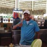 Junior P. Best bartender!!!