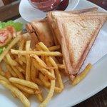 Wunderbar, Bentota,  SL - Cheese sandwich