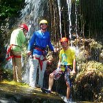 Waterfall repelling and Canyoneering Tour