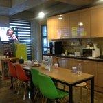 public kitchen area