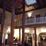 Taos Inn's lobby