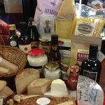 Not just cheese! We have an extensive line of cheese, meats, olives, and specialty pantry items.