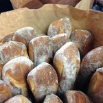 Fresh baked Bonfiglio Bread from Hudson, NY delivered 3x a week.