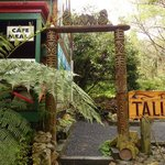 Talisman Cafe - near the entrance