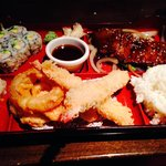 Bento Box with the steak option!
