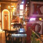 Restaurant at Hari Piorko..