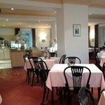 Restaurant/Ontbijtruimte op de eerste verdieping