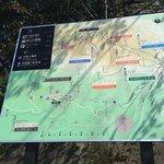 登山道マップ