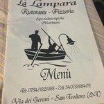 Bild från La Lampara