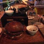 Belgian Cafe Burger