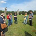 Emoción, dolor Visité el campo de Salaspils hace dos años con un grupo de amigos  formado por j