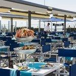 Terrasse du bar de la mer