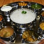 Südindische Thali