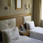 chambre double sur partie rénovée