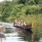 Turistas en el Río Yacuma