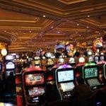 Casino next to D'Oreale Grande Hotel