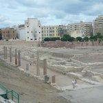 Вид на раскопки