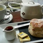 Afternoon Tea and a Scone