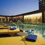 Swimming pool on 7th floor