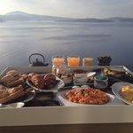 The amazing breakfast!