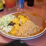 Excellent and filling: Stacked carne seca enchiladas