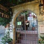 Entrance to Attiki Hotel, Rhodes