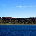 Hills in autumn splendour