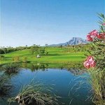 Golf court view