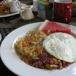 Best Breakfast at Reds